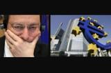 "Bce: Draghi mantiene all'1% i tassi e fa ""scaricabarile"""