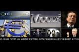 BCE: prestiti condizionati.  Moody's declassa ancora l'Italia