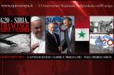 Siria-G20 – La Lettera di Francesco: Evitate il Massacro