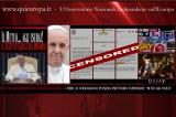 Papa Francesco attacca le Banche Usuraie!  E i Mass Media Censurano