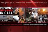 Gaza – La Menzogna Sionista e la Strage degli Innocenti