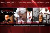 In difesa di Papa Benedetto XVI – Prima Parte