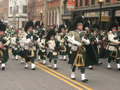 St. Patrick's Day Parade--Morristown, New Jersey 3/2007