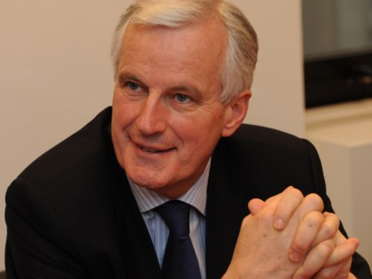 Portraits of Michel Barnier
