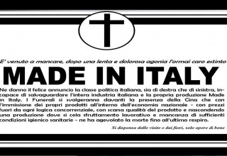 Predominio Cina in Europa - Morte del made in Italy