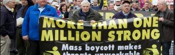 Irlanda,  - Protesta anti austerity e  Fiscal Compact