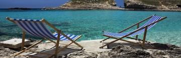 Mar Mediterraneo - Specchio di mare cristallino nei dintorni di Cipro