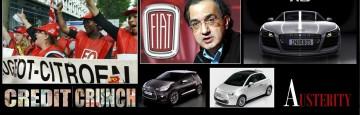 L'Austerity dell'Unione europea continua a Mietere vittime - Recessione e Crollo Domanda nel Mercato Auto in Francia e Italia