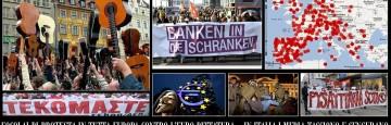 Piazze d'Europa in fermento contro l'Euro-Dittatura e l'Euro-Casta - Vergognosa censura e Campagna Disinformativa della maggior parte dei Media italiani