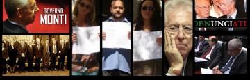 Governo Monti Denunciato presso la Caserma dei Carabinieri di Catanzaro