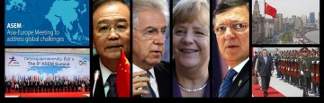 Vertice ASEM, Monti, Merkel
