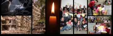 Syria a Very Special Good Christmas - When the Light of Faith transcends and overcomes Fear and Death
