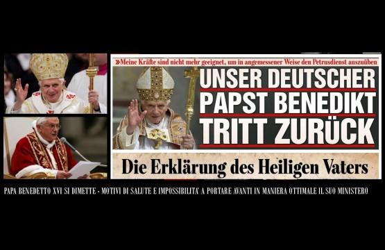 Dimission of Pope Benedict XVI