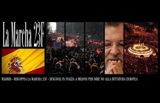 Madrid - Tutti in Piazza contro la Dittatura Europea
