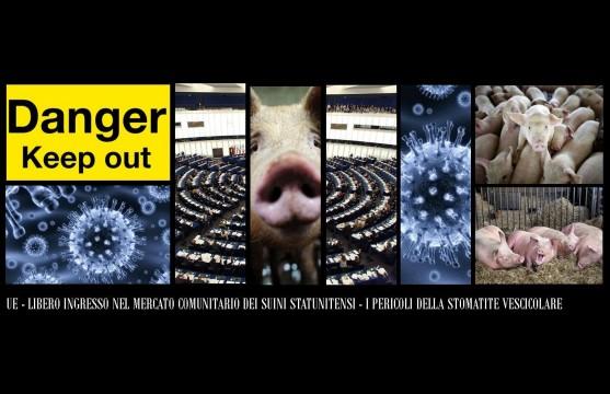 Mario Borghezio - Interrogazione - Suini Usa