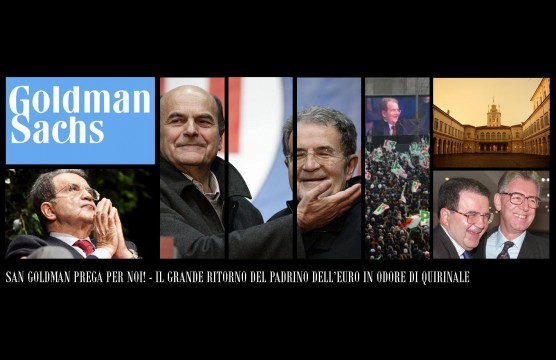 Prodi - Bersani - Goldman Sachs