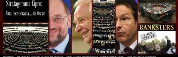 Caso Cipro e Unione Bancaria - Parlamento Europeo - Bruxelles