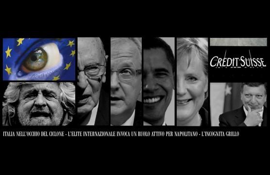 Grillo - Napolitano - Obama