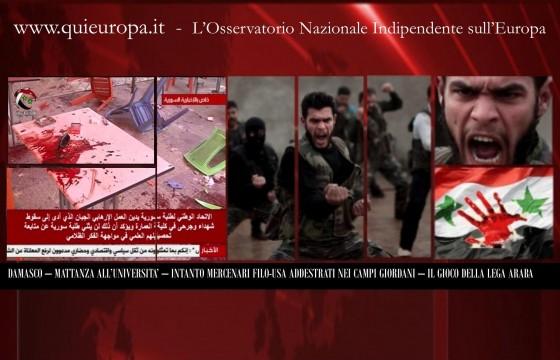 Ora Pro Siria - Qui Europa