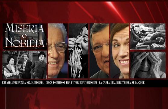 Eurotruffa - L'Italia sprofonda nella Miseria
