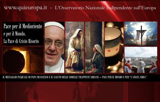 Syrian Easter - Peace - Pope Francesco
