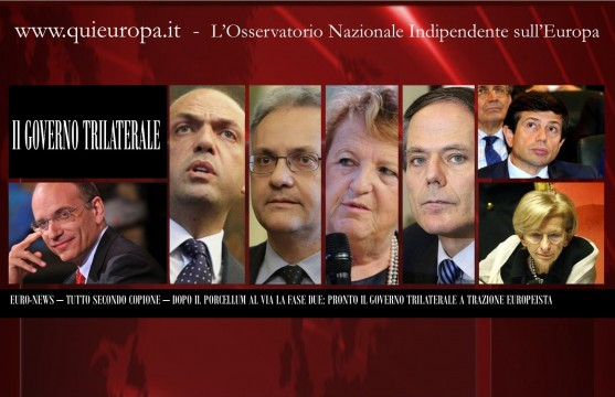 Euro News - Trilateral Government in Italy