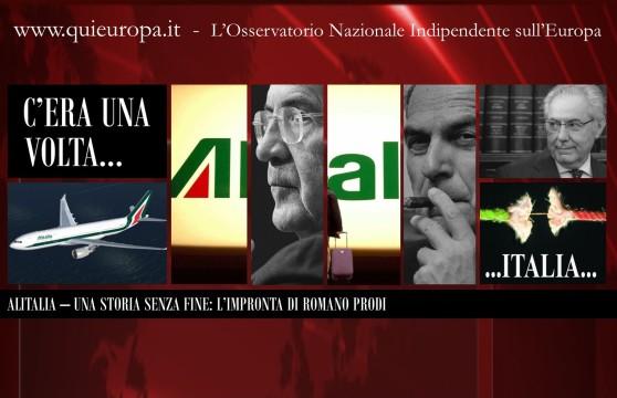 Alitalia - L'Impronta di Romano Prodi
