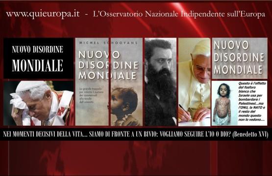 Benedetto XVI - Nuovo Disordine Mondiale, Il Libro