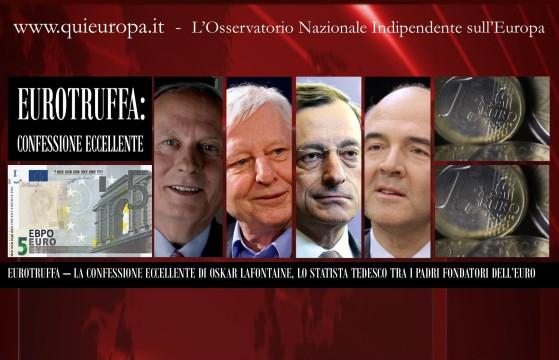 Le Confessioni sull'Euro di Oskar Lafontaine