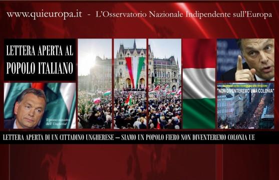Non Diventeremo una Colonia Ue - Ungheria - Viktor Urban
