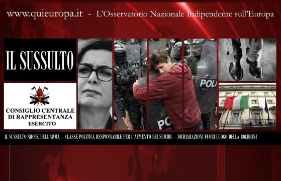 Suicidi in Italia - La Denuncia shock dei Carabinieri