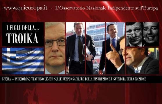 Grecia, FMI e UE - Responsabilità e Strategie di Olli Rehn e Troika