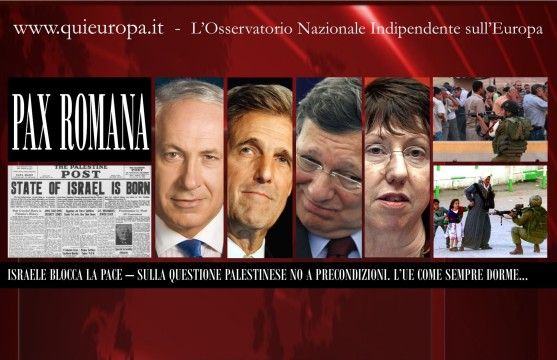 Palestina, Israele e la Pax Romana