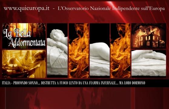 Profondo Sonno - Italiani Popolo di Dormiglioni - Intanto il Paese Brucia