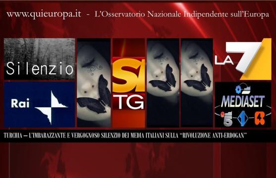 Rivoluzione Turca - l'Imbarazzante e Vergognosa silenzio dei Media Italiani