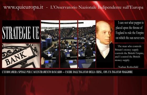 Unione Bancaria - Parlamento Europeo - 13 Giugno 2013