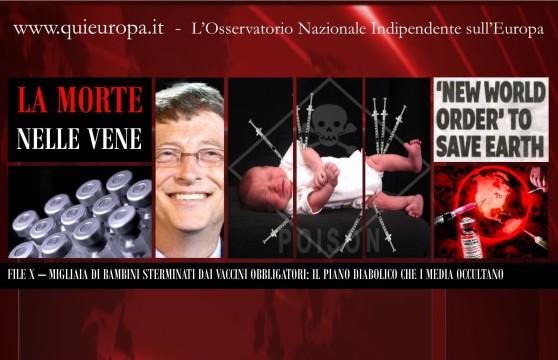 Vaccini Killer - Bambini Sterminati