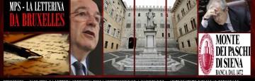 Commissione Europa - Almunia - MPS - Lettera