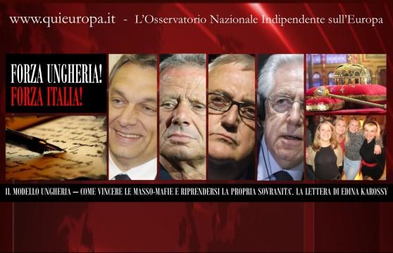 Edina Karossy - Orban - Zamparini - Borghezio - Sovranità Nazionale