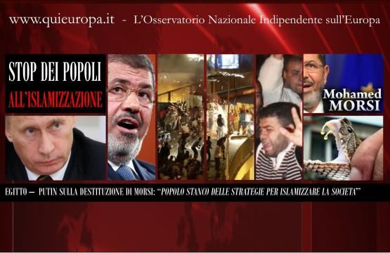 Egitto - Morsi - Putin - Islamizzazione