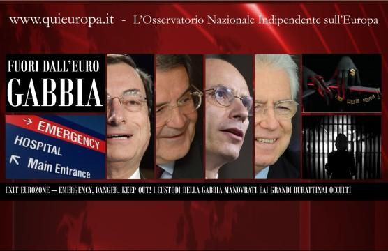 Euro gabbia e burattinai