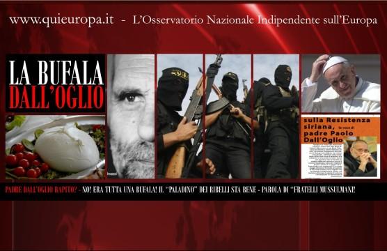 La Bufala del rapimento di Dall'Oglio in Siria