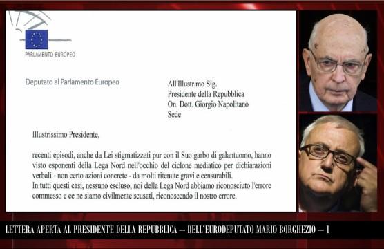 Lettera Aperta al Presidente della Repubblica  - 1