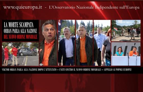 Orban, Discorso alla Nazione - Nuovo Ordine Mondiale