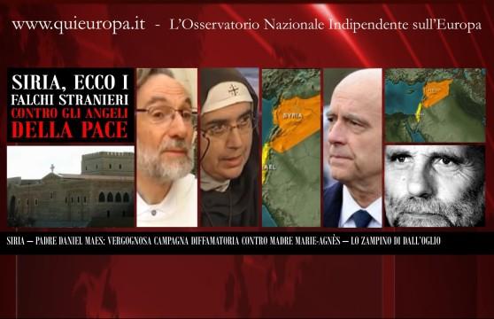 Padre Daniel Maes - Madre Agnes Maria - Padre Paolo Dall'Oglio