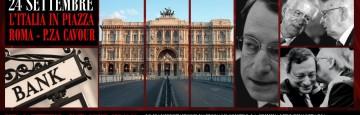 Roma - Prima Manifestazione Nazionale Contro la Criminalità Economico-Finanziaria e Giudiziaria - 24 Settembre