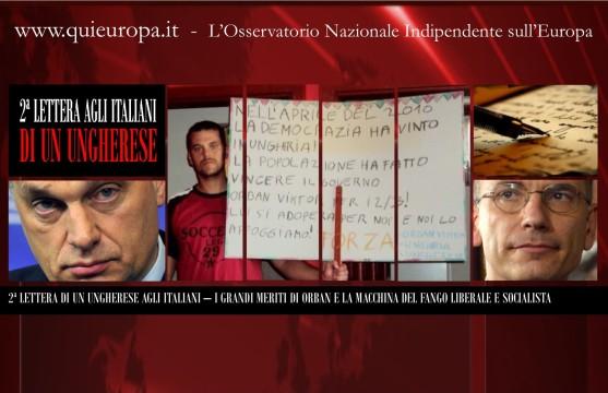 Seconda Lettera di un Cittadino Ungherese agli Italiani