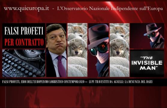 Unione europea - falsi profeti a contratto sul web