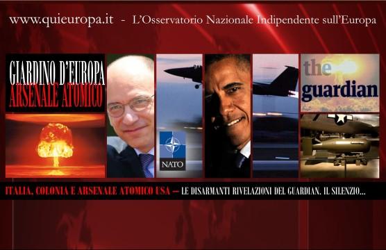 Italia, Arsenale Atomico USA