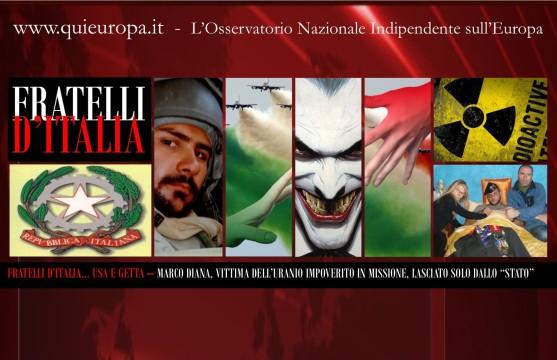 Marco Diana - Fratelli d'Italia e Uranio Impoverito